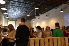 Young Professionals Brewery Tour at the Community Beer Company, November 2014