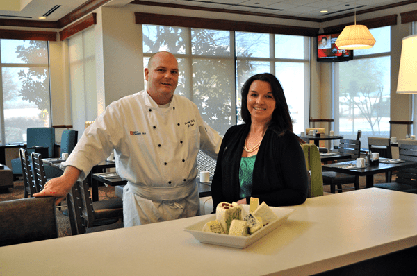 Executive Chef Jan Loov and General Manager Angela Barfield