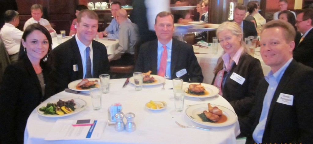 SACC-Houston 2012 Bloomberg Advisor and Marsh Insurance Director talks (Bertil Olsson, center)