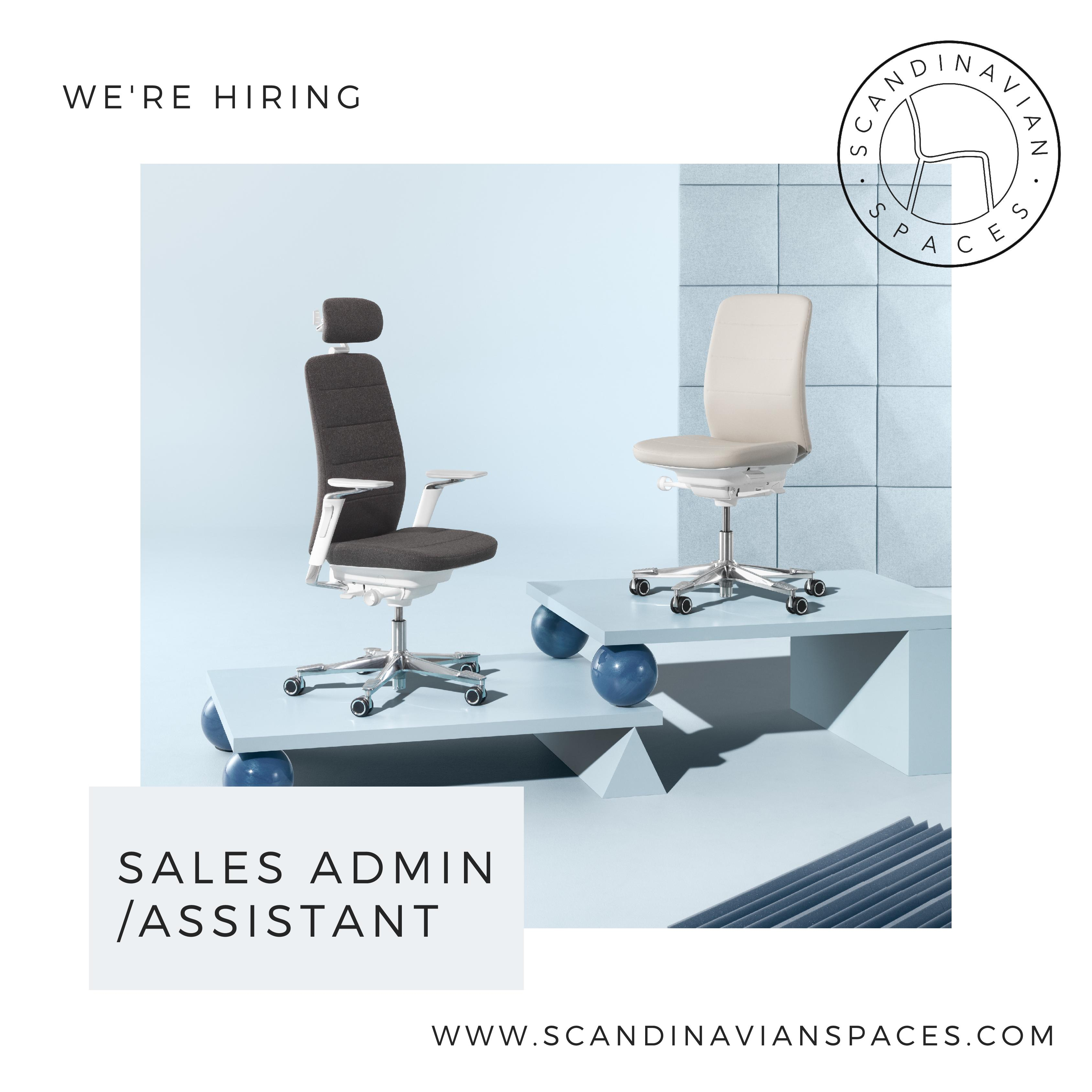 sales admin assistant to scandinavian spaces in austin sacc tx